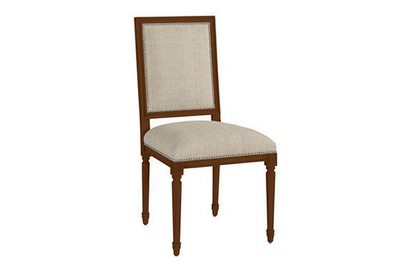 Ballard Designs Square Louis Side Chair
