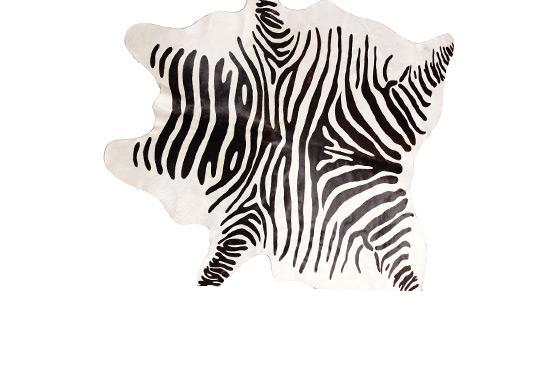 Neiman Marcus Zebra Hide Rug