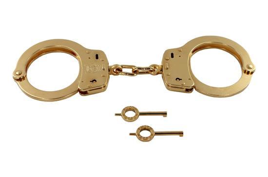 Handcuff Warehouse Gold Smith & Wesson Handcuff
