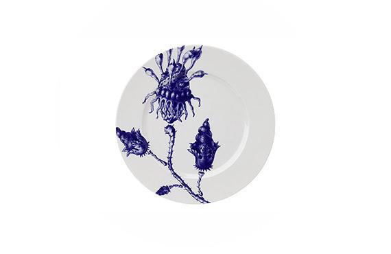 Table Art  Etrange Vegetation Plate, Anthologie Quartett