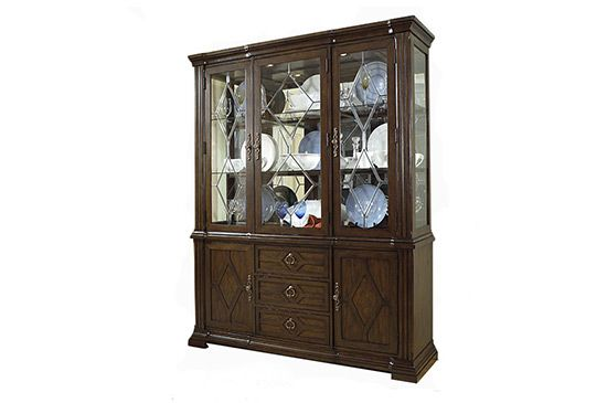 Overstock Madrid Hutch and Buffet Set