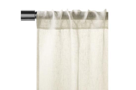 West Elm Sheer Linen Window Panel
