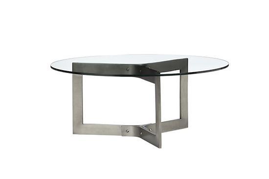 Crate & Barrel Rivet Coffee Table