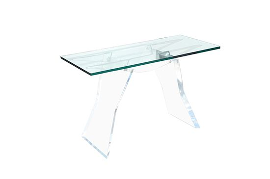 1stdibs Lucite Console Table