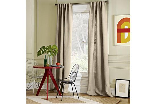West Elm  Belgian Linen Window Panel , From $90