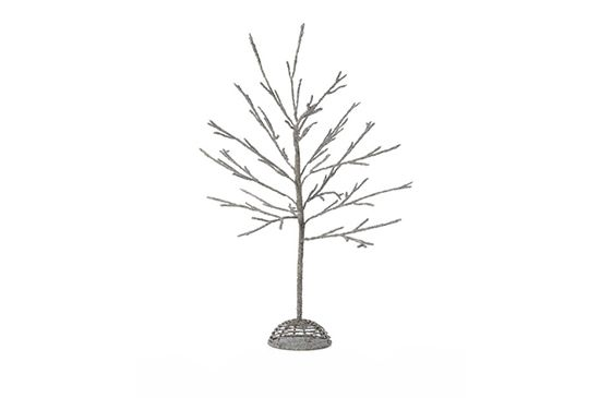 Chasing Fireflies  Silver Sparkle Beaded Tree