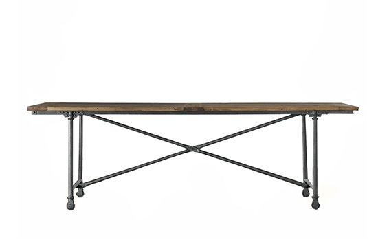 Restoration Hardware Flatiron Dining Table, From $590