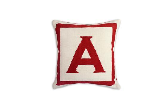 Jonathan Adler  Red Letter Pillow