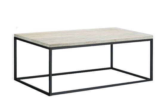 West Elm Box Frame Coffe Table