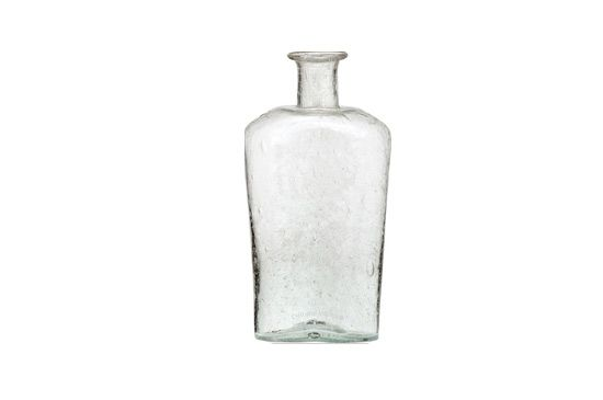 Luna Bazaar Glass Flask