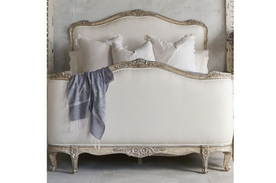 Layla Grace Eloquence Sophia Upholstered Silver Bed