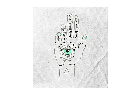 Society6 Eye See Hamsa Print by Wesley Bird