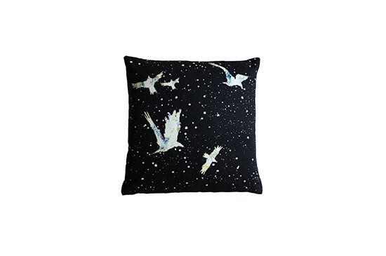 Twinkle Living Forget-Me-Not Throw Pillow