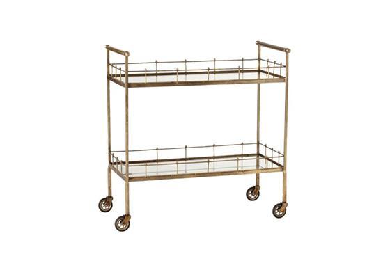 Clayton Grey Home Lisbon Bar Cart