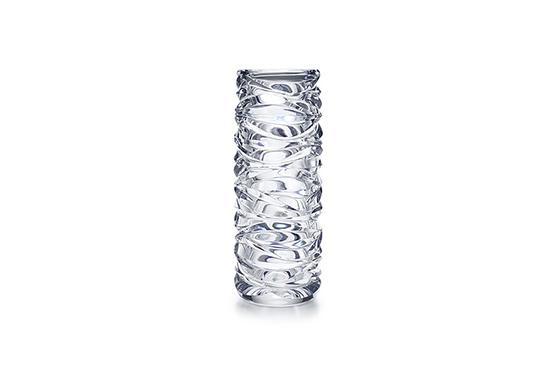 Tiffany & Co. Wave Cut Cylinder Vase