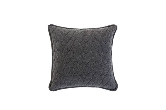 Gretel Home Knit & Purl Quilted Pillow