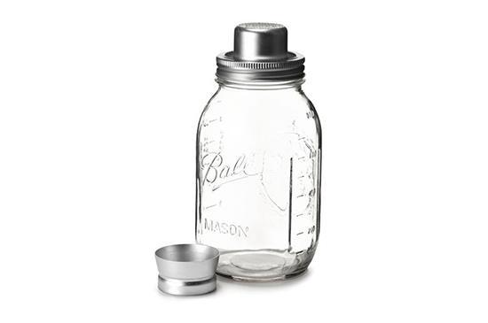 West Elm  W & P Mason Jar Cocktail Shaker