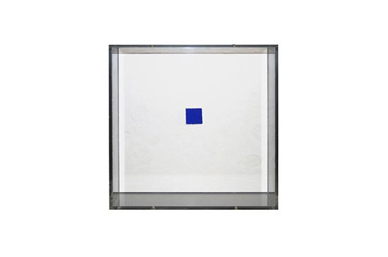 1st Dibs Blue Stamp by Yves Klein, Price Upon Request