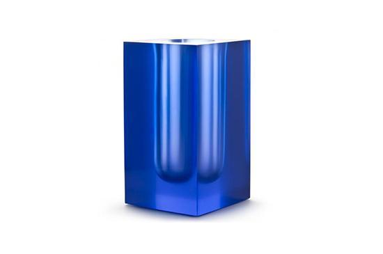 Jonathan Adler Blue Bel Air Test Tube Vase