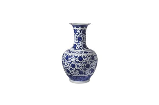 Williams Sonoma Home Blue and White Ginger Jar