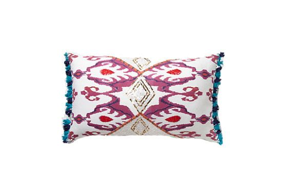 Anthroplogie Fringed Javadi Pillow