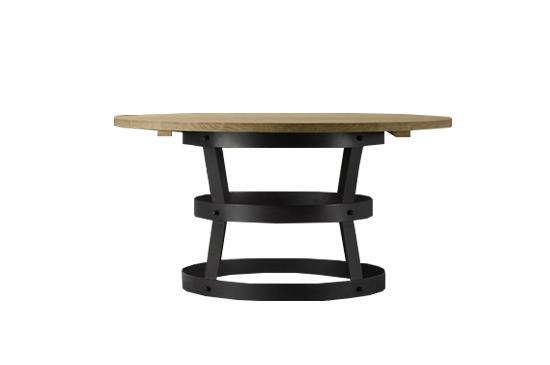 Restoration Hardware Teak Metal Basket Dining Table, from $1,275