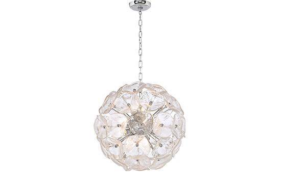 Lamps Plus Crystal Blossom Twelve Light Pendant Chandelier