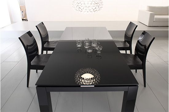 LaContenpo Rossetto Diamond Modern Dining Table