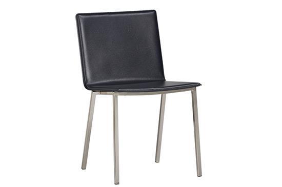 CB2 Phoenix Carbon Grey Chair