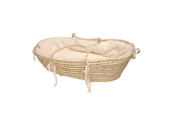 Giggle Organic Baby Moses Basket