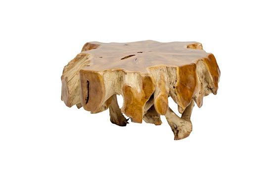 High Fashion Home Teak Root Coffee Table