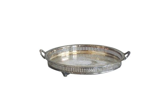 Ollie's Fine Things  Silver Plated Waiter Tray