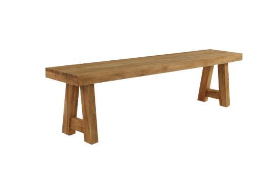 Teak Warehouse Blok Bench, from $595