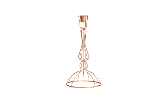 H&M Home Metal Candlestick