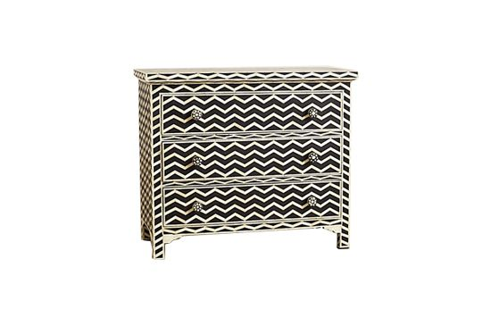Anthropologie Chevron Inlay Dresser