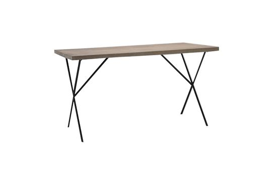 West Elm Metal Truss Table