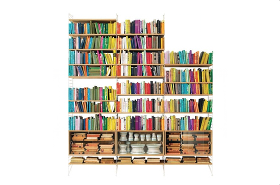 A+R Store String\'s String Shelving System