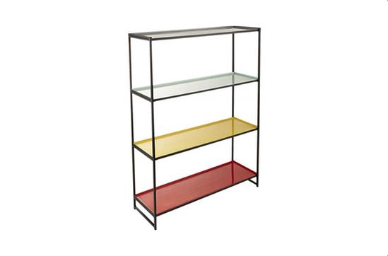 CB2 Colour Block Bookcase
