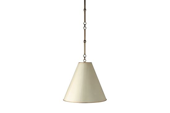 Circa Lighting White Goodman Hanging Lamp