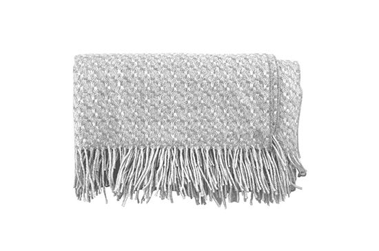 Canvas Home Basket Weave Throw