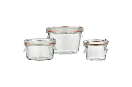 Crate & Barrel Weck Low Canning Jars, from $1