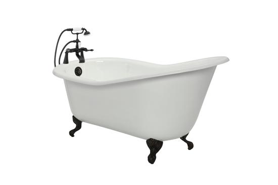American Bath Factory Lyon Cast-Iron Bathtub