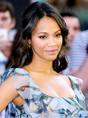 9 Things Zoe Saldana Can't Live Without This Month