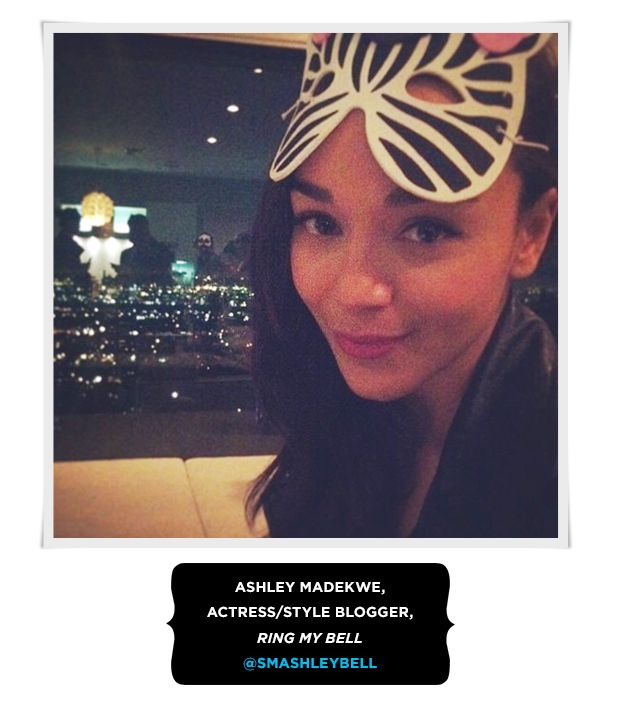 Ashley Madekwe, Actress/Style Blogger
