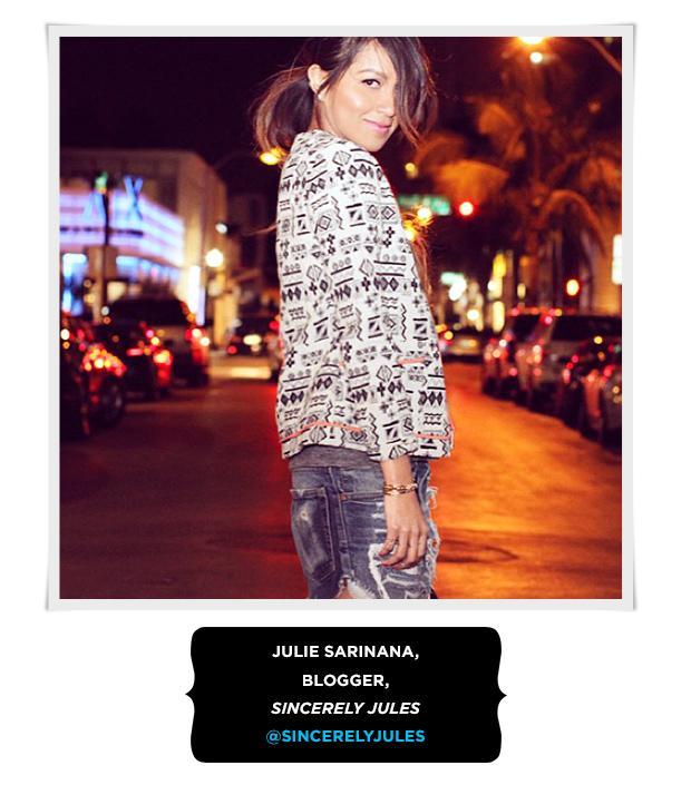 Julie Sarinana, Blogger