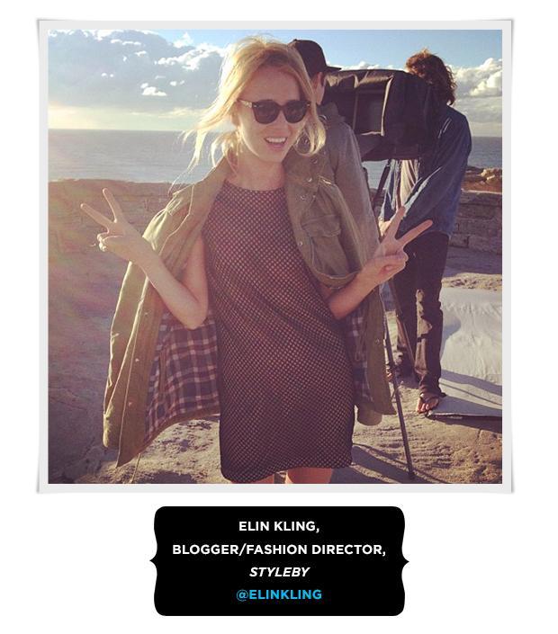 Elin Kling, Blogger/Fashion Director