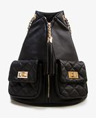 Forever 21  Tassel Zip Backpack