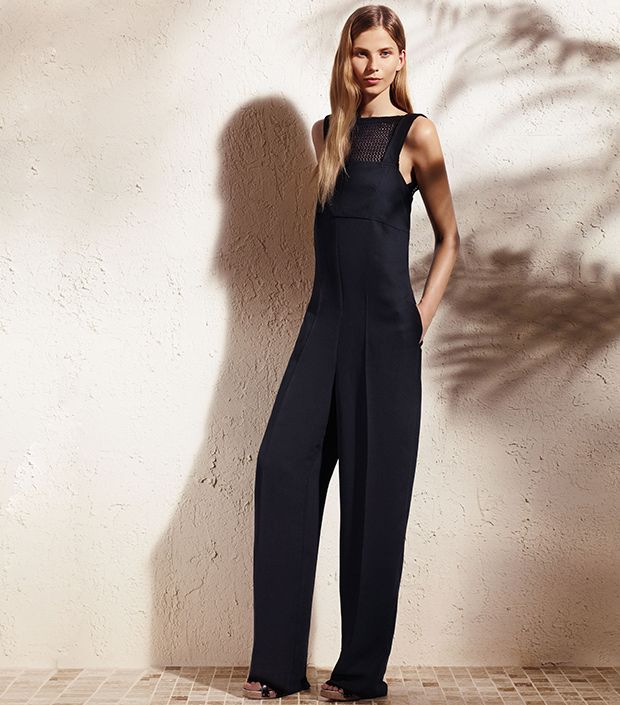 """<p><a href=""""http://rstyle.me/n/ty74ch9e"""" target=""""_blank"""" title=""""Solid Jumpsuit"""">Solid Jumpsuit</a> ($88)</p>"""