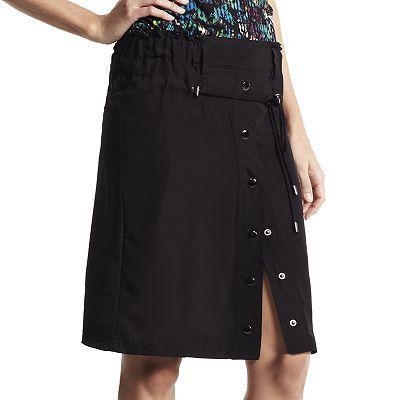 Derek Lam for DesigNation  Solid Snap-Front Skirt