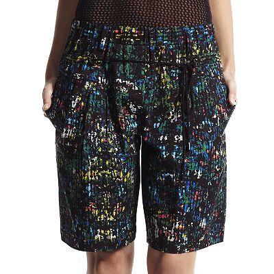 Derek Lam for DesigNation Splatter Shorts